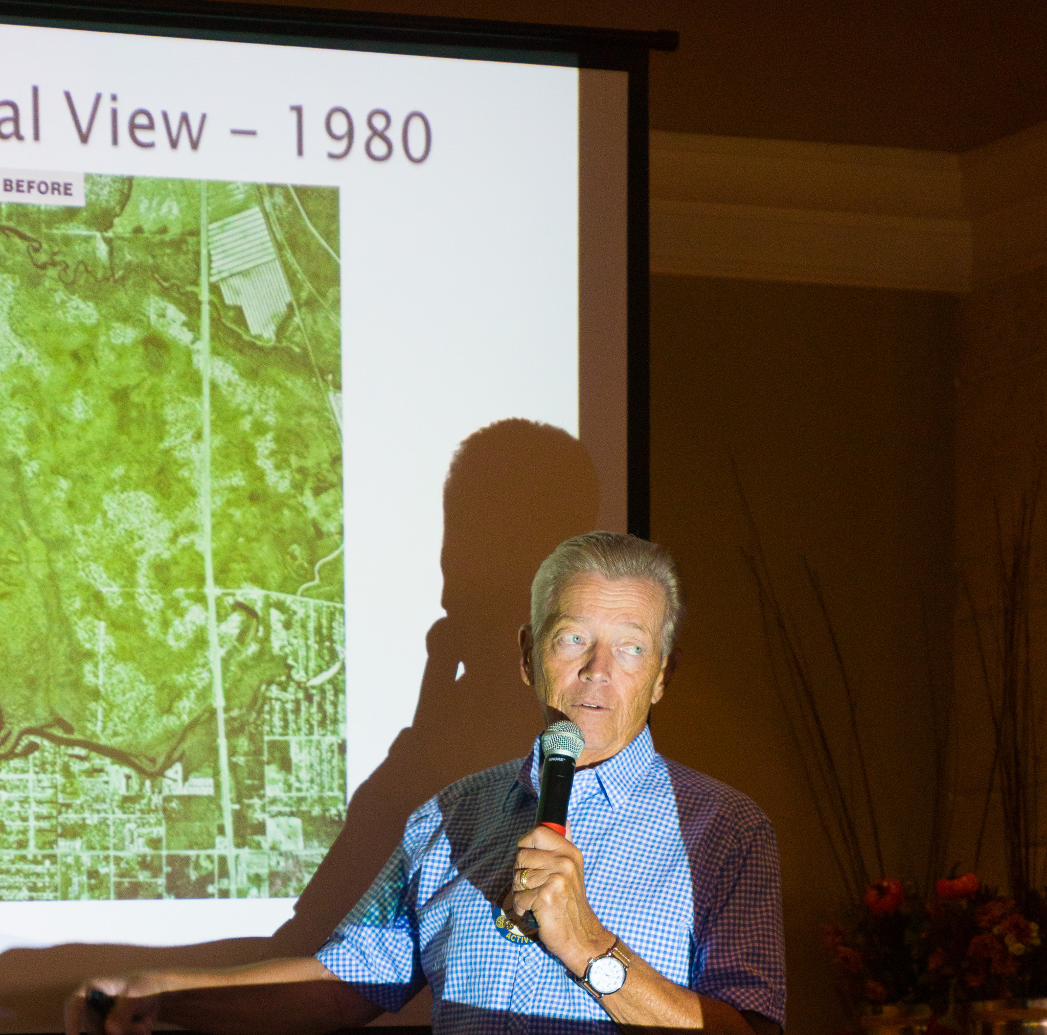 "Dave Shellenbarger presents a summary of his book, ""Unspoiled Will Spoil You, The History of the Development of Bonita Bay."